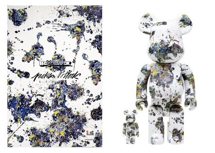 BE@RBRICK, 'Jackson Pollock', 2021