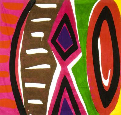 Kim MacConnel, 'Untitled #5. (pink, red, black, white, brown, magenta, green, purple)', 2004