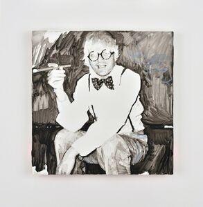 Tursic & Mille, 'David Hockney smoking smiling and shining', 2016