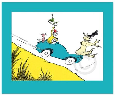 Dr. Seuss, 'Dr. Seuss, Would You? Could You? In a Car?', 2016