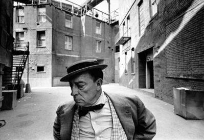 Lawrence Schiller, 'Buster Keaton, MGM Back Lot', 1965
