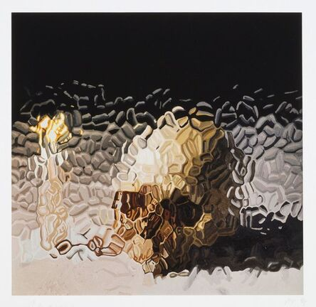 Marcus Harvey, 'Skull and Candle', 2012