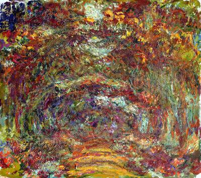 Claude Monet, 'Path under the Rose Arches', 1918–1924