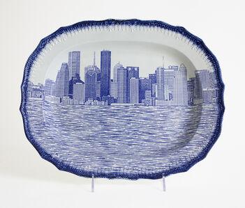 Paul Scott, 'Cumbrian Blue(s), New American Scenery, Houston No: 2', 2017