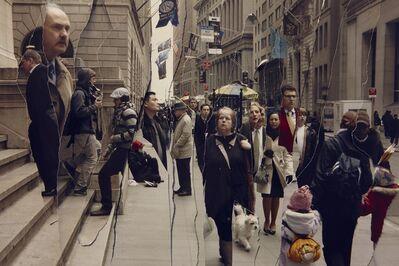 John Clang, 'Time (Wall Street)', 2009