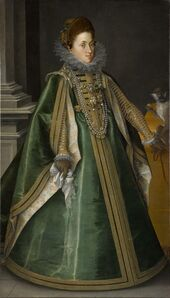 Joseph Heintz the Elder, 'Konstanze von Habsburg, Archduchess of Central Austria, Later Queen of Poland', 1604