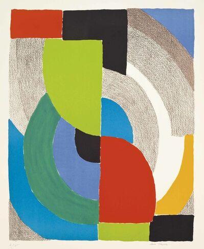 Sonia Delaunay, 'Olympie', 1970