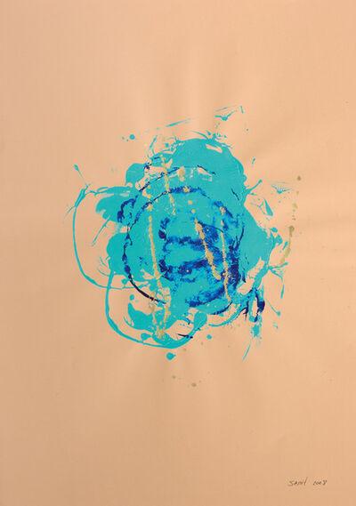 Sarit Lichtenstein, 'Blue Flower with gold', 2008