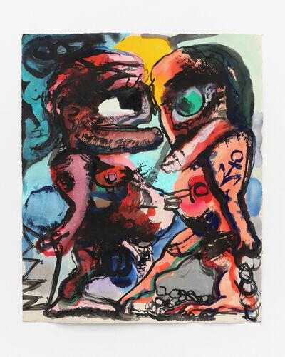 Dana Schutz, 'The Meeting', 2017