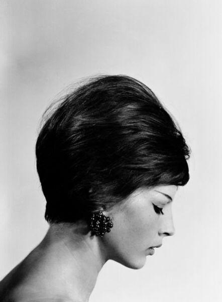 CLAIRE AHO, 'Carita in black and white', ca. 1960