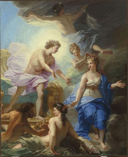 Jean Baptiste Zhuvene, 'Apollon et Thetys (Apollo and Thetis)', 18th century