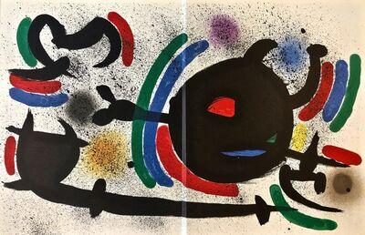 Joan Miró, 'Original Lithograph X', 1972