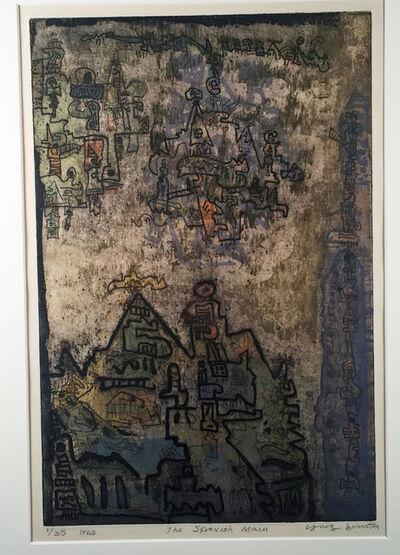 Ynez Johnston, 'SPANISH MAIN', 1963