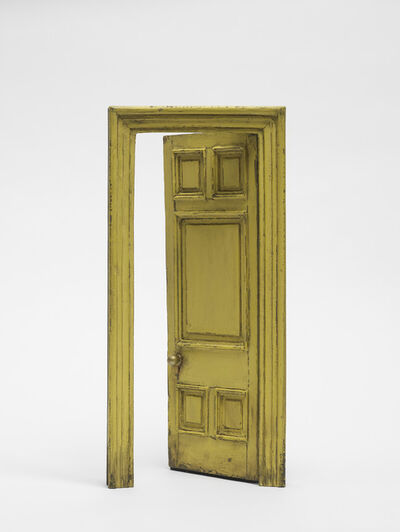 Gavin Turk, 'Small Door (Yellow & Green)'