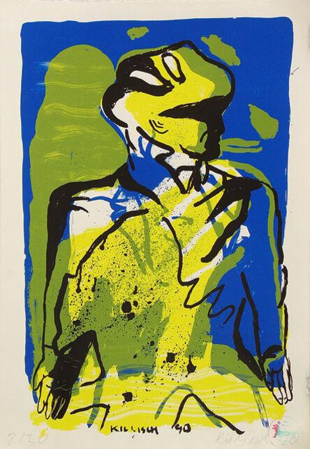 Klaus Killisch, 'Seele brennt', 1990