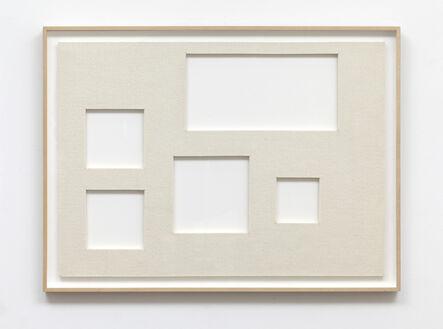 David Diao, 'Perfect Arrangement at 1/4 Scales', 2015