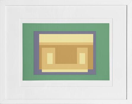 Josef Albers, 'Variant from Formulation: Articulation', 1972