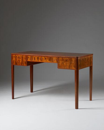 "Carl Malmsten, 'Desk ""Nefertiti""', 1947"