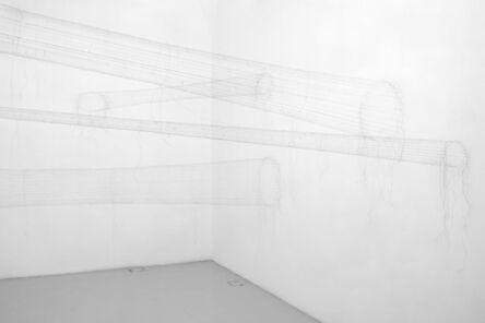 Christiane Löhr, 'Four tubular hair forms   ', 2020