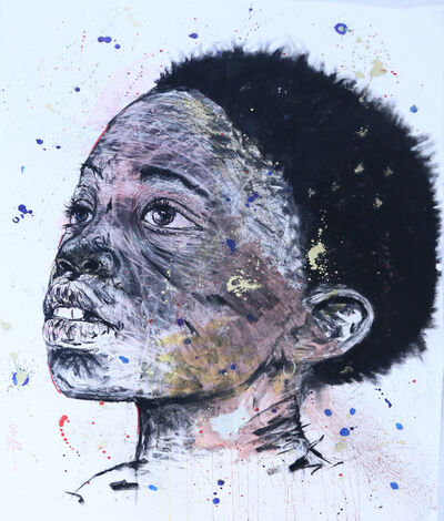 Nelson Makamo, 'Me and My Confidants (Potraits)', 2015