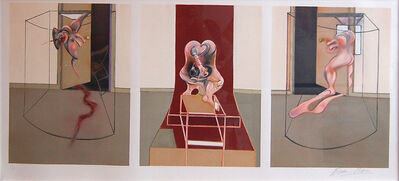 Francis Bacon, 'Triptych inspired by the Oresteia of Aeschylus', 1981
