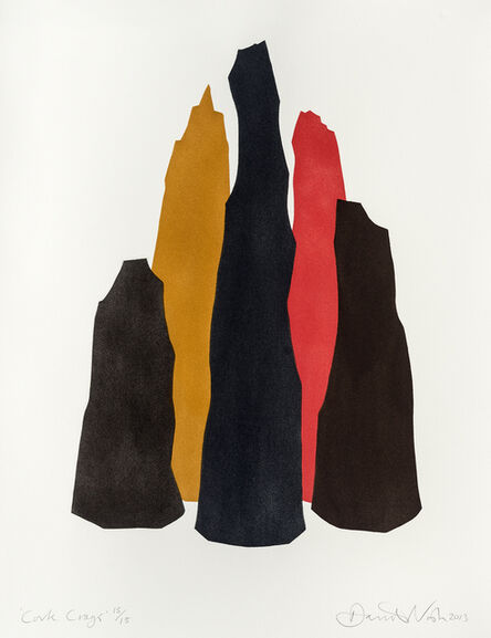 David Nash, 'Cork Crags', 2013
