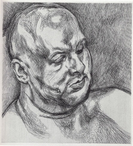Lucian Freud, 'Head of a Man', 1992