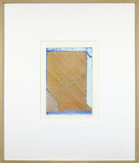 Richard Diebenkorn, 'Construct (Grid) ', 1980