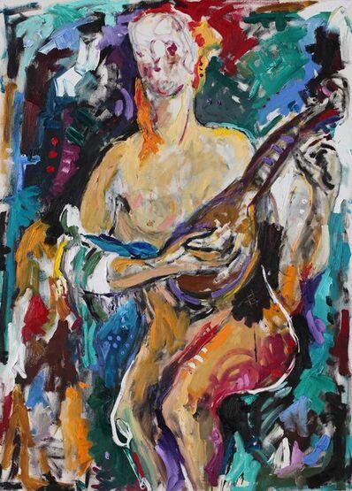 Marc Guiragossian, 'Le Musicien errant', 2015