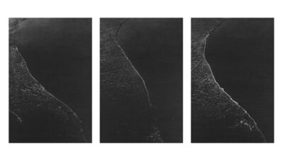 Richard Forster, 'Three Verticals at consecutive but random intervals, Saltburn-by the Sea, Jan 22, 2013, 11.55am-11.57am', 2013