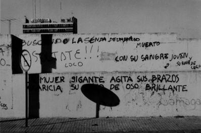 "Facundo de Zuviría, 'From the series ""Estampas Porteñas"", ""Untitled (San Telmo, Paseo Colón Avenue)""', ca. 1989"