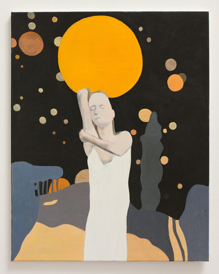 Bruno Knutman, ' Mellan himmel och jord / Between Heaven and Earth', 2016