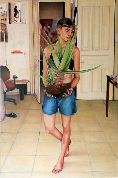 Zamir Shatz, 'Aloe Vera Baby', 2017