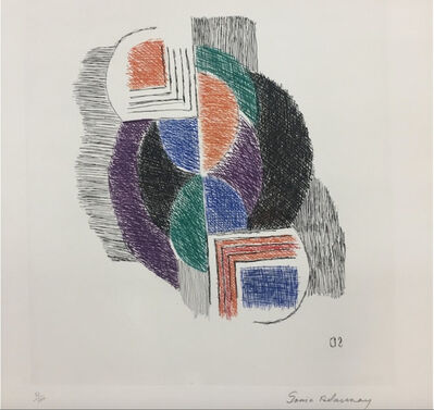 Sonia Delaunay, 'Composition', 1965