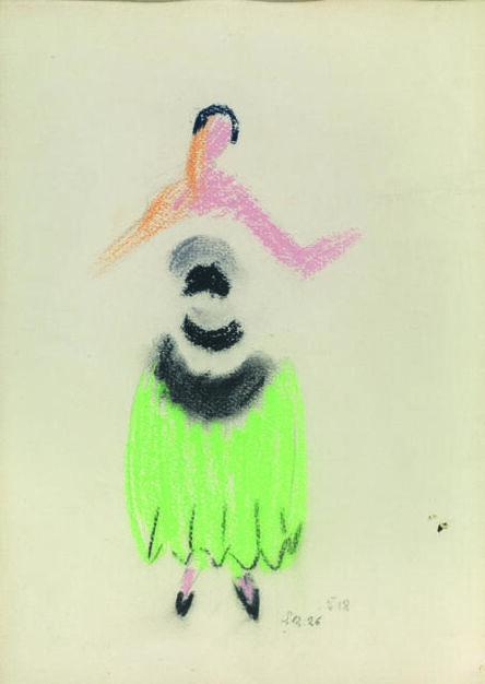 Sonia Delaunay, 'Robe De Soir', 1926