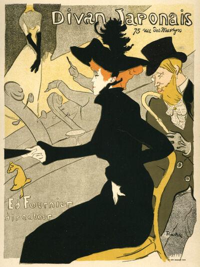 Henri de Toulouse-Lautrec, 'Divan Japonais', 1895