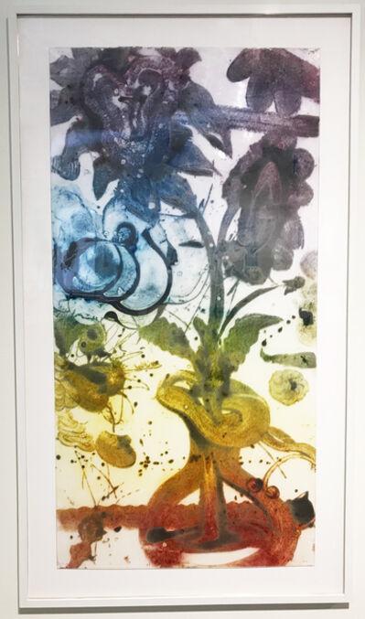 Catherine Howe, 'Reverse Carborundum Painting (Violets)', 2015