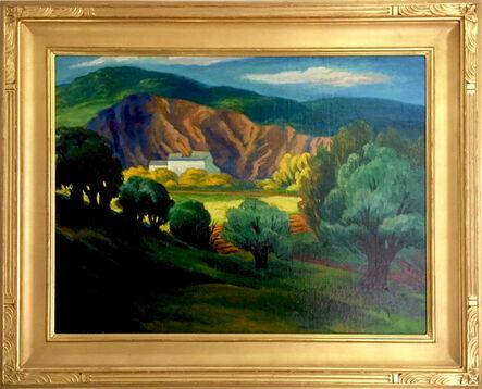 RAD Miller, 'Quarry Landscape', 1920s