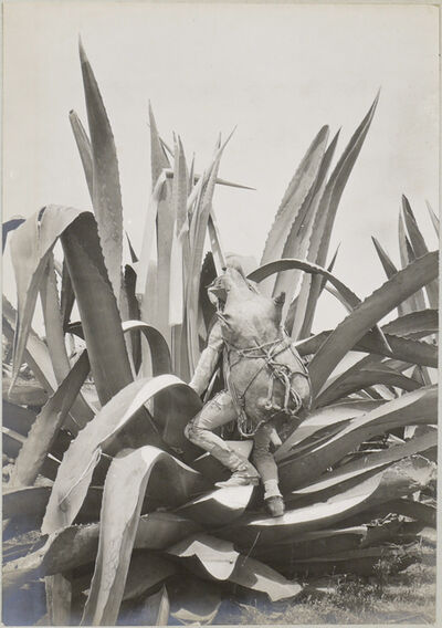CHARLES BETTS WAITE, 'Tlachiquero. Drawing pulque from the maguey,', ca. 1898