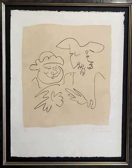 Pablo Picasso, 'Don Quichotte et Sancho Pancha 1', 1951