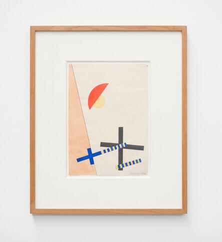 László Moholy-Nagy, 'Collage mit 2 Kreuzen', 1922
