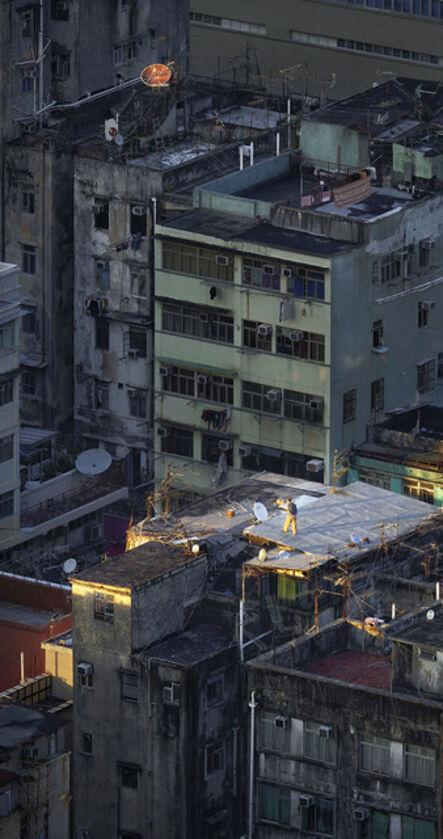 Romain Jacquet-Lagrèze, ''Sky Walking' Hong Kong ', 2016