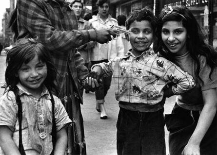 William Klein, 'Gun 2, New York', 1954-55