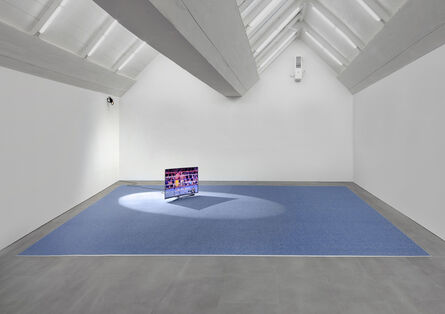 Paul Pfeiffer, 'Three Figures in A Room ', 2015