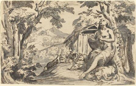 after Pietro Testa, 'The Prodigal Son', 18th century
