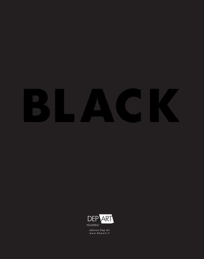 Natale Addamiano, 'BLACK exhibition', 2014