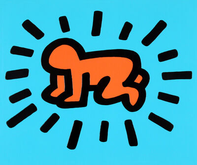 Keith Haring, 'Radiant Baby (Icons)', 1990