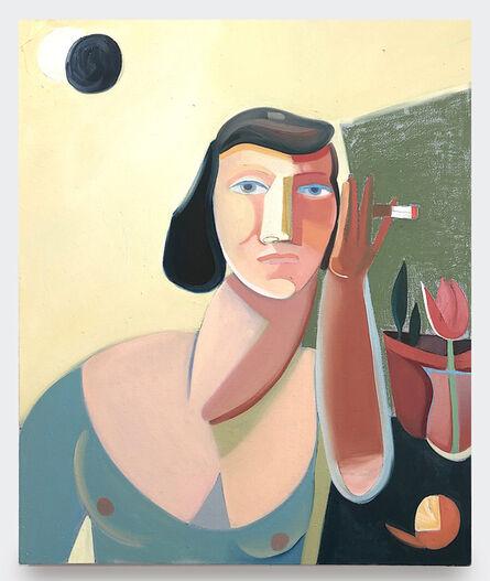 Danielle Orchard, 'Garden Eclipse With Clementine', 2019