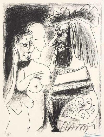Pablo Picasso, 'LE VIEUX ROI (B. 869)', 1959