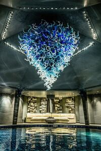 Dale Chihuly, '2k piece Chandelier 12x12' Includes Install worldwide Glass Art B/O', 2000